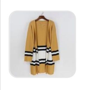 Candy Stripes Sweater Cardigan